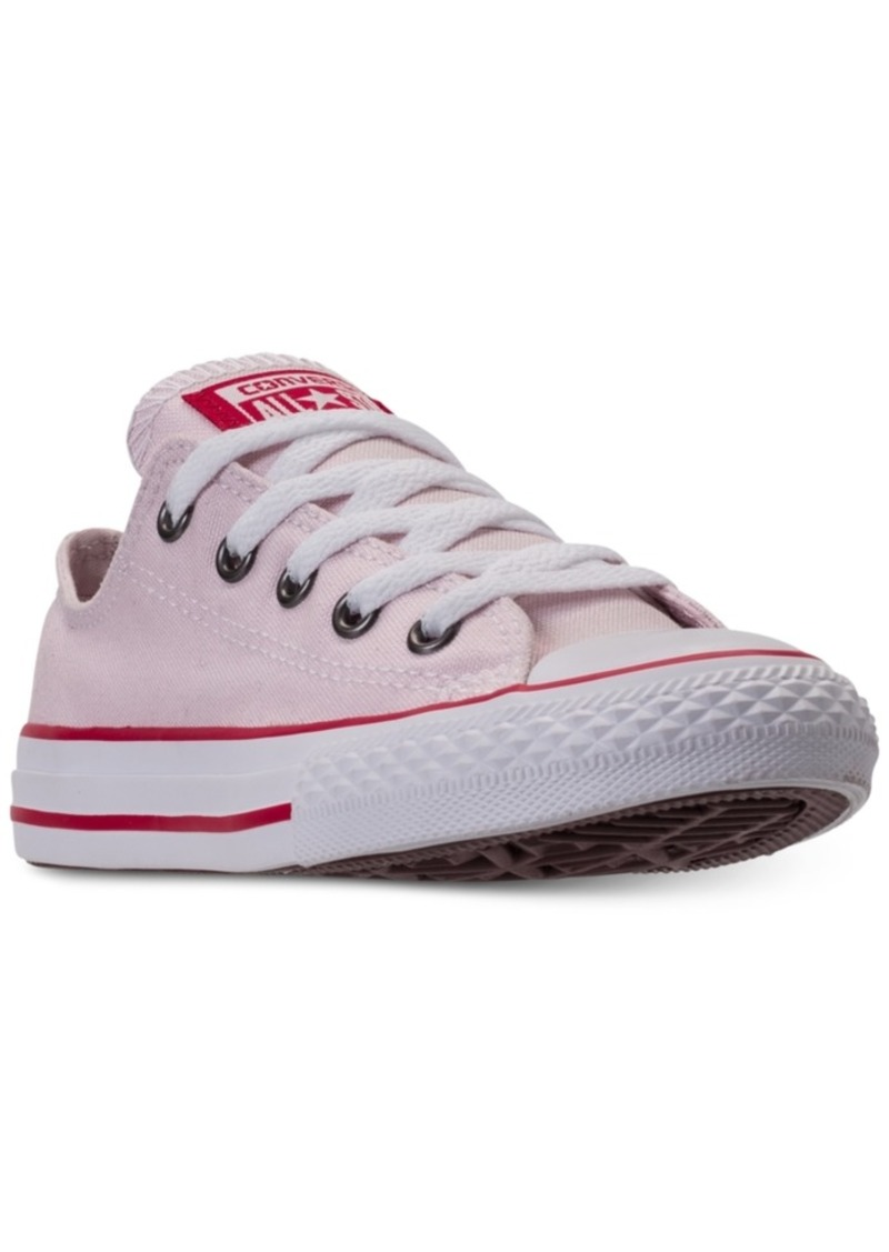 a14935514baf Converse Little Girls  Chuck Taylor All Star Ox Casual Sneakers from Finish  Line