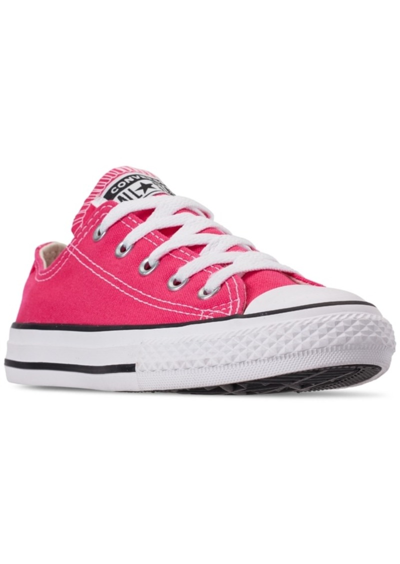 Little Girls' Chuck Taylor All Star Ox Casual Sneakers from Finish Line