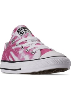 Converse Little Girls Chuck Taylor All Star Tie-Dye Low Casual Sneakers from Finish Line