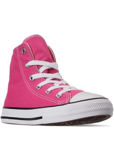 Converse Little Girls Chuck Taylor High Top Galaxy Dust Print Casual Sneakers from Finish Line