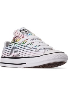Converse Little Girls Chuck Taylor Ox Star Print Casual Sneakers from Finish Line