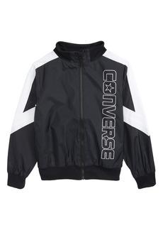 Converse Logo Woven Track Jacket (Big Boys)