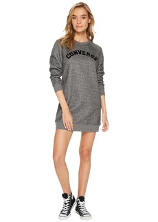Converse Long Sleeve Sweatshirt Dress