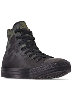 1976c99a999e Converse Men s Chuck Taylor All Star Gradient Camo High Top Casual Sneakers  from Finish Line