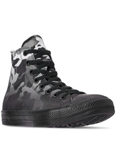 Converse Men's Chuck Taylor All Star Gradient Camo High Top Casual Sneakers from Finish Line