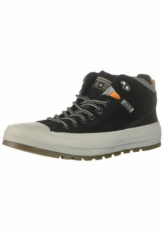 Converse Men's Chuck Taylor All Star High Top Sneaker Boot Black/Dolphin