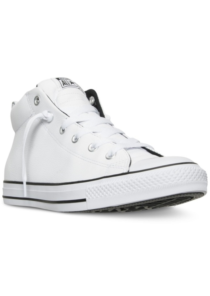 Converse Men s Chuck Taylor All Star Street Hiker Mid Top Shoes from Finish  Line 6dba36f3b8397