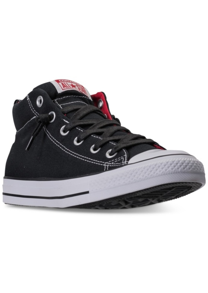 a28c91f5b07d Converse Men s Chuck Taylor All Star Street Mid Casual Sneakers from Finish  Line