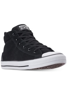 Converse Men's Chuck Taylor Street Mid Varsity Jacket Casual Sneakers
