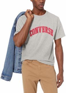 Converse Men's Collegiate Text Short Sleeve T-Shirt  S
