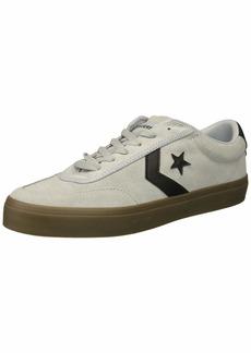 Converse Men's Courtlandt Suede Leather Accent Low Top Sneaker   M US