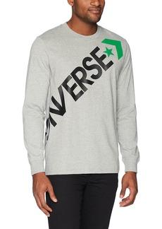Converse Men's Cross Body Long Sleeve T-Shirt  XS