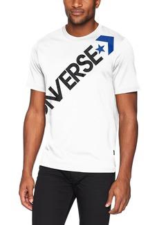 Converse Men's Cross Body Short Sleeve T-Shirt  S