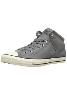 Converse Men's CTAS HIGH Street HI Mason/Black/EGRET Sneaker   M US
