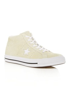 Converse Men's One Star Suede Mid Top Sneakers