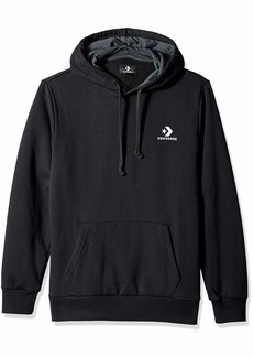 Converse Men's Star Chevron Embroidered Pullover Hoodie  L