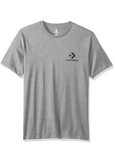 Converse Men's Star Chevron  Logo Short Sleeve T-Shirt  S