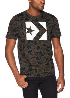 Converse Men's Star Chevron Short Sleeve All Over Camo T-Shirt  XL