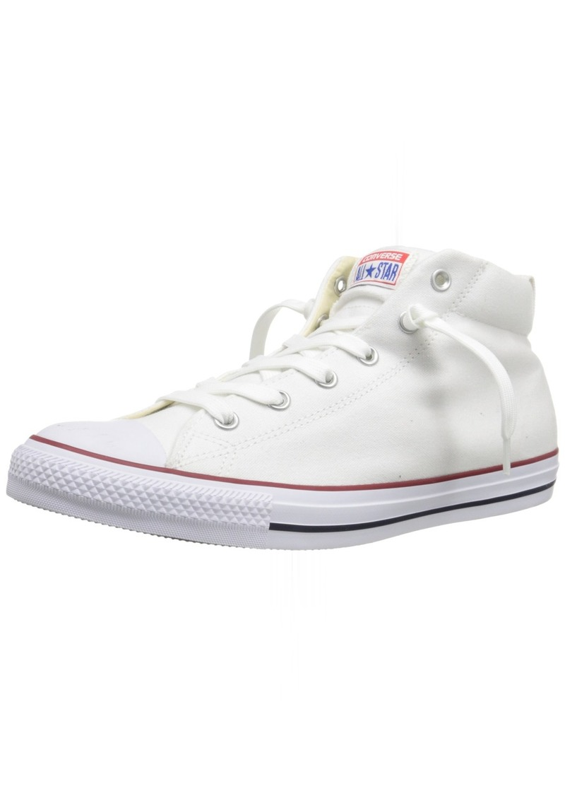 Converse Men's Street Canvas Mid Top Sneaker Natural/White  M US
