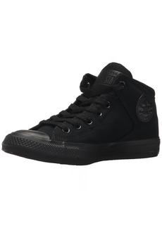 Converse Men's Street Canvas High Top Sneaker Black  M US
