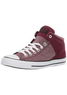 Converse Men's Unisex Chuck Taylor All Star Street High Top Sneaker   M US