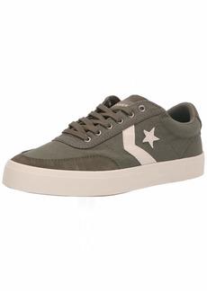 Converse Men's Unisex Courtlandt Canvas Low Top Sneaker   M US