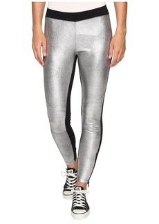 Converse Metallic Moto Leggings