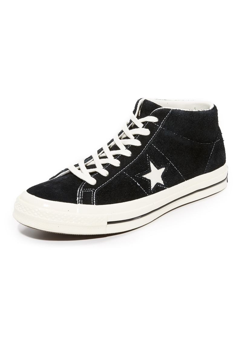 03fdc5208aa400 Converse Converse One Star 74 Suede Mid Top Sneakers Now  67.50