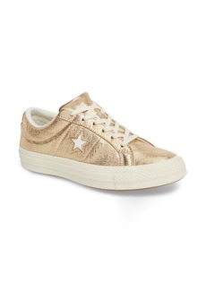 Converse One Star Heavy Metal Low Top Sneaker (Women)