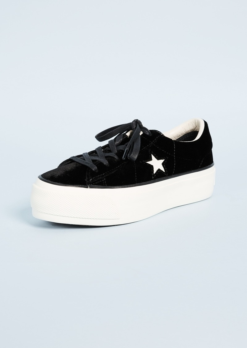 One Star Platform Ox Sneakers