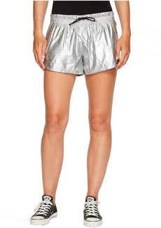 Converse Perforated Metallic Nylon Shorts