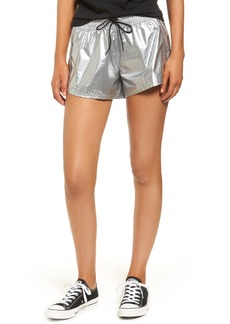 Converse Perforated Metallic Shorts