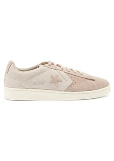 Converse Pro Leather suede trainers