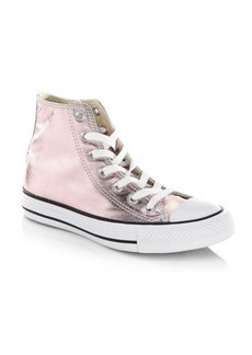Converse Seasonal Metallic High-Top Sneakers