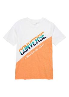 Converse Sport Splice Graphic T-Shirt (Big Boys)
