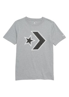 Converse Star Chevron Graphic T-Shirt (Big Boys)