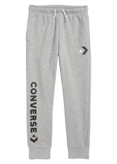 Converse Star Chevron Logo Jogger Pants (Big Boys)