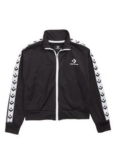 Converse Star Chevron Track Jacket (Big Girls)