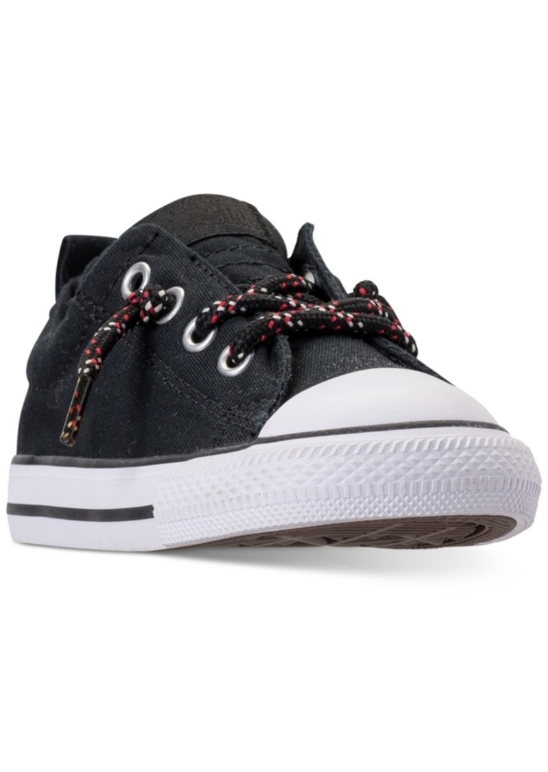 76545fbf299eaa Converse Toddler Boys  Chuck Taylor Street Ox Casual Sneakers from Finish  Line