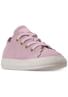 Converse Toddler Girls' Chuck Taylor All Star Low Top Frilly Thrills Casual Sneakers