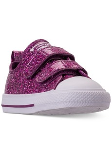 Converse Toddler Girls' Chuck Taylor All Star Party Dress Ox Casual Sneakers from Finish Line