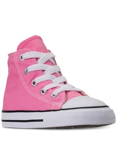 Converse Toddler Girls' Chuck Taylor High Top Casual Sneakers from Finish Line