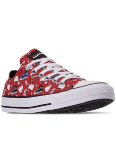 Converse Unisex Chuck Taylor Low Hello Kitty Casual Sneakers from Finish Line