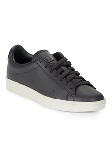 Converse Unisex Leather Lace-Up Sneakers
