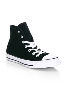 Converse Velvet High-Top Sneakers