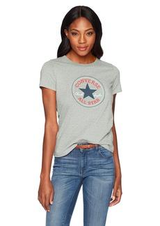Converse Women's Chuck Patch Short Sleeve Crew T-Shirt  S
