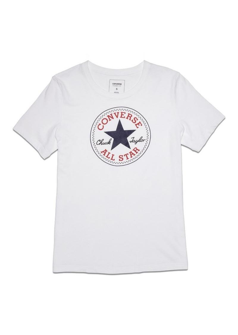 Converse Women's Chuck Patch Short Sleeve Crew T-Shirt  XL