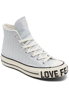 Converse Women's Chuck Taylor 70 Love Fearlessly High Top Casual Sneakers from Finish Line