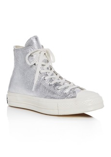 Converse Women's Chuck Taylor All Star 70 Metallic High Top Sneakers
