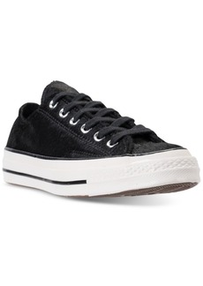 Converse Women's Chuck Taylor All Star 70 Ox Pony Hair Casual Sneakers from Finish Line